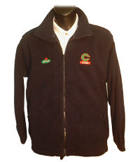 custom logo embroidered fleece from KSP Promotions