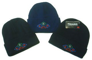 custom logo embroidered thermal hats from KSP Promotions